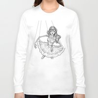 soul Long Sleeve T-shirts featuring Soul by Fatma Sahem