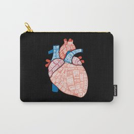 Anatomical Heart - For Cardiac Nurse Cardiologists Carry-All Pouch