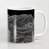 dark side of the moon Mugs featuring Dark Side of the Moon by Lyle Hatch