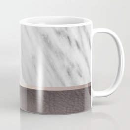 Manly Carrara Italian Marble Coffee Mug