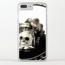 Confronting Death Clear iPhone Case