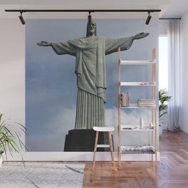 Jesus Christ, Rio De Janeiro Wall Mural
