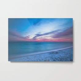 If By Sea - Sunset and Emerald Waters Near Destin Florida Metal Print