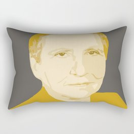 Gertrude Stein Rectangular Pillow