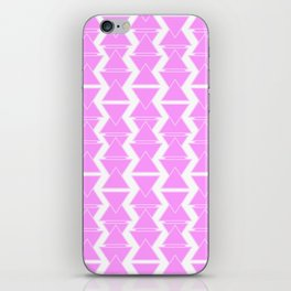 RIGHT AND WRONG II: PINK AGAIN iPhone Skin