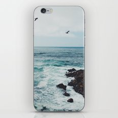 Sea Blue iPhone Skin