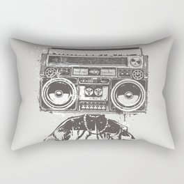 Old School Boy Rectangular Pillow