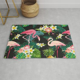 Flamingo Dance Rug