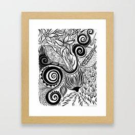 Boob Warrior I Framed Art Print