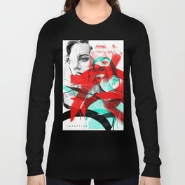 Marion Cotillard in Inception - Movie Inspired Art Long Sleeve T-shirt