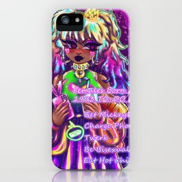 Eat Hot chip and lie iPhone Case