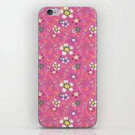 Tiara Flower Pink iPhone Skin