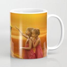 Lion twins | Lion et jumelles Coffee Mug