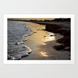 Sunset Steps Art Print