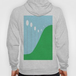Abstract Landscape - Lights on the Hill Hoody