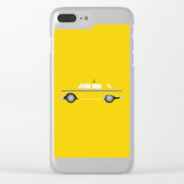 New York Yellow Taxi Clear iPhone Case