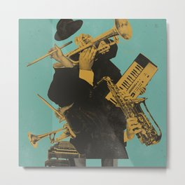ABSTRACT JAZZ Metal Print