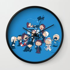 Who's Nuts? Wall Clock