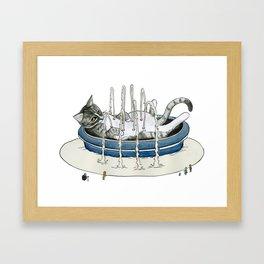 Charlie Fountain Framed Art Print