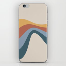Flowing Wave Abstract iPhone Skin