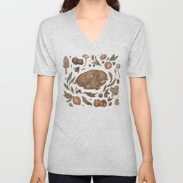 Foraging Fawn Unisex V-Neck