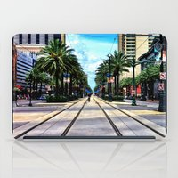 new orleans iPad Cases featuring New Orleans by Resistance