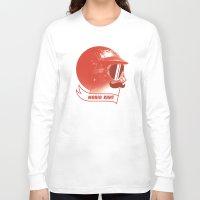 mario kart Long Sleeve T-shirts featuring Mario Kart by Chase Kunz