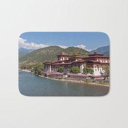 Bhutan: Punakha Dzong Bath Mat