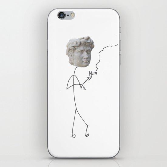 Moody David iPhone & iPod Skin