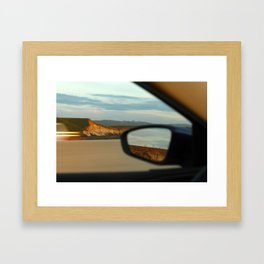 Mountains and Mirrors Framed Art Print