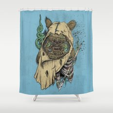 Zombwok Shower Curtain