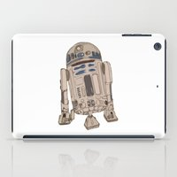 r2d2 iPad Cases featuring R2D2 by colleencunha