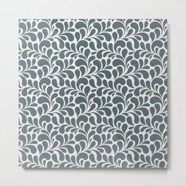 Beautiful Pattern #5 Floral Metal Print