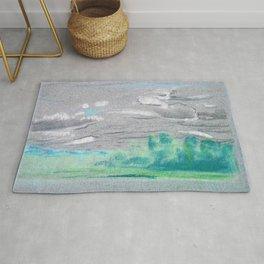 12,000pixel-500dpi - Landscape - Arthur Bowen Davies Rug