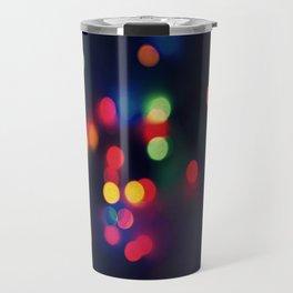 Lights of the Season Travel Mug