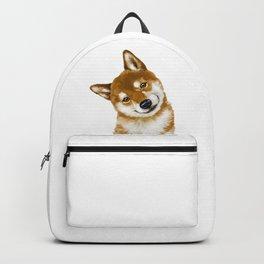Smile Shiba Inu Backpack