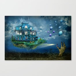 A journey with the wind Canvas Print