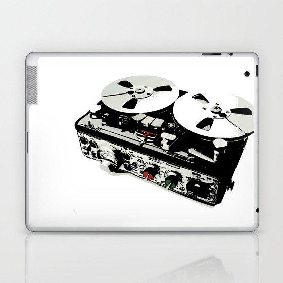 the ultimate tape recorder Laptop & iPad Skin