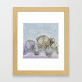 Romance of Christmas Framed Art Print