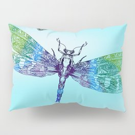Dragonflies and Blue Skies Pillow Sham
