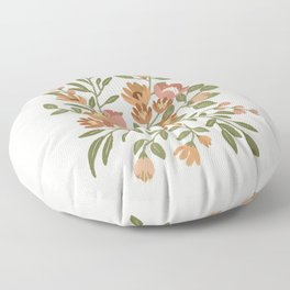 Freya Flowers Floor Pillow