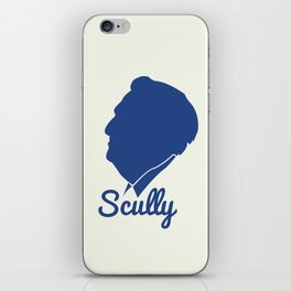 Vin Scully Silhouette  iPhone Skin