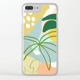 Relax and chill Clear iPhone Case