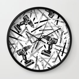 Art Bits Drill Set Wall Clock