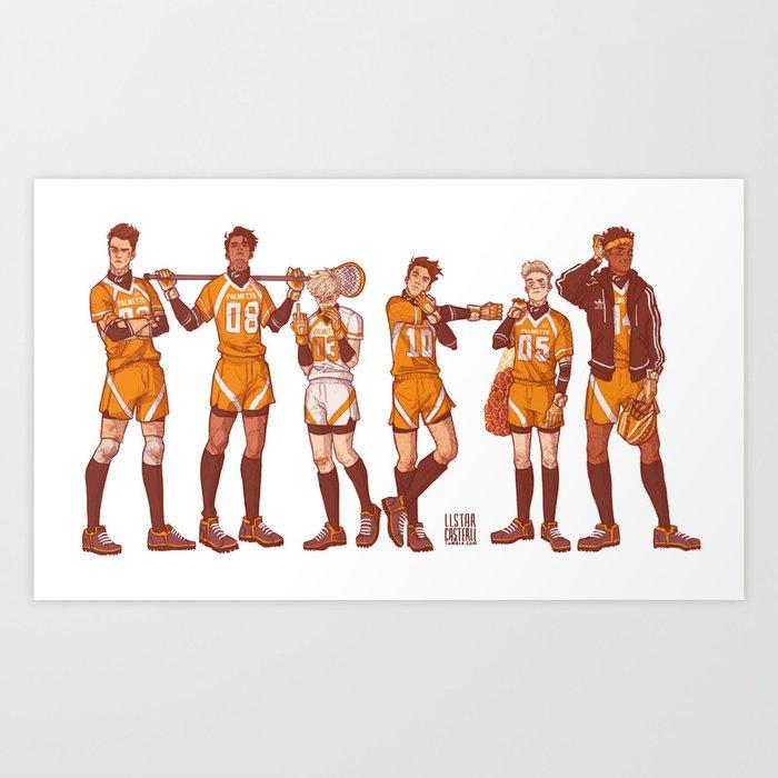 foxhole court boys Kunstdrucke