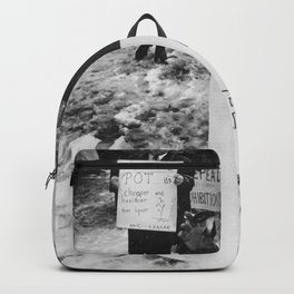 Ginsberg - Pot is a Reality Kick Backpack