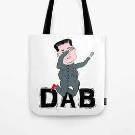Kim Jong Un Dabbing Tote Bag