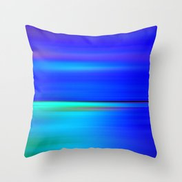 Night light abstract Throw Pillow