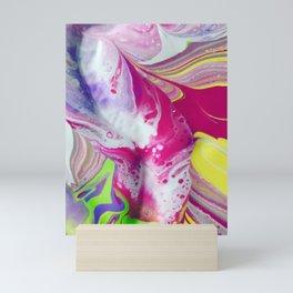 Let it flow Mini Art Print