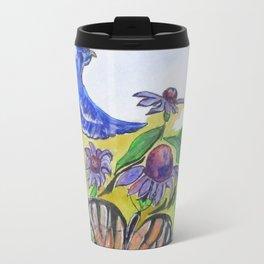 Blue Jay Fantasy Travel Mug